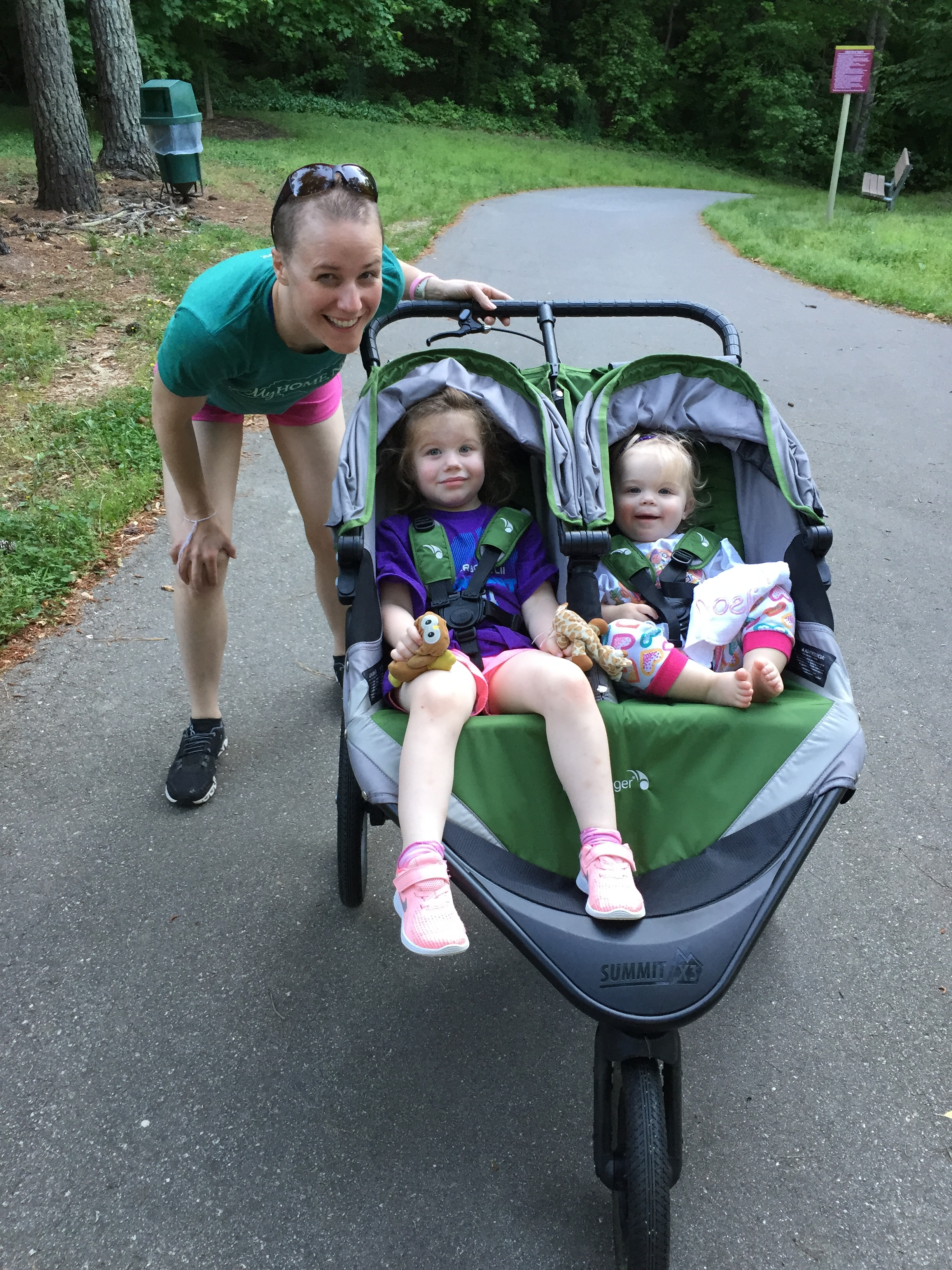 Our family loves any excuse to get in some steps on the greenway!