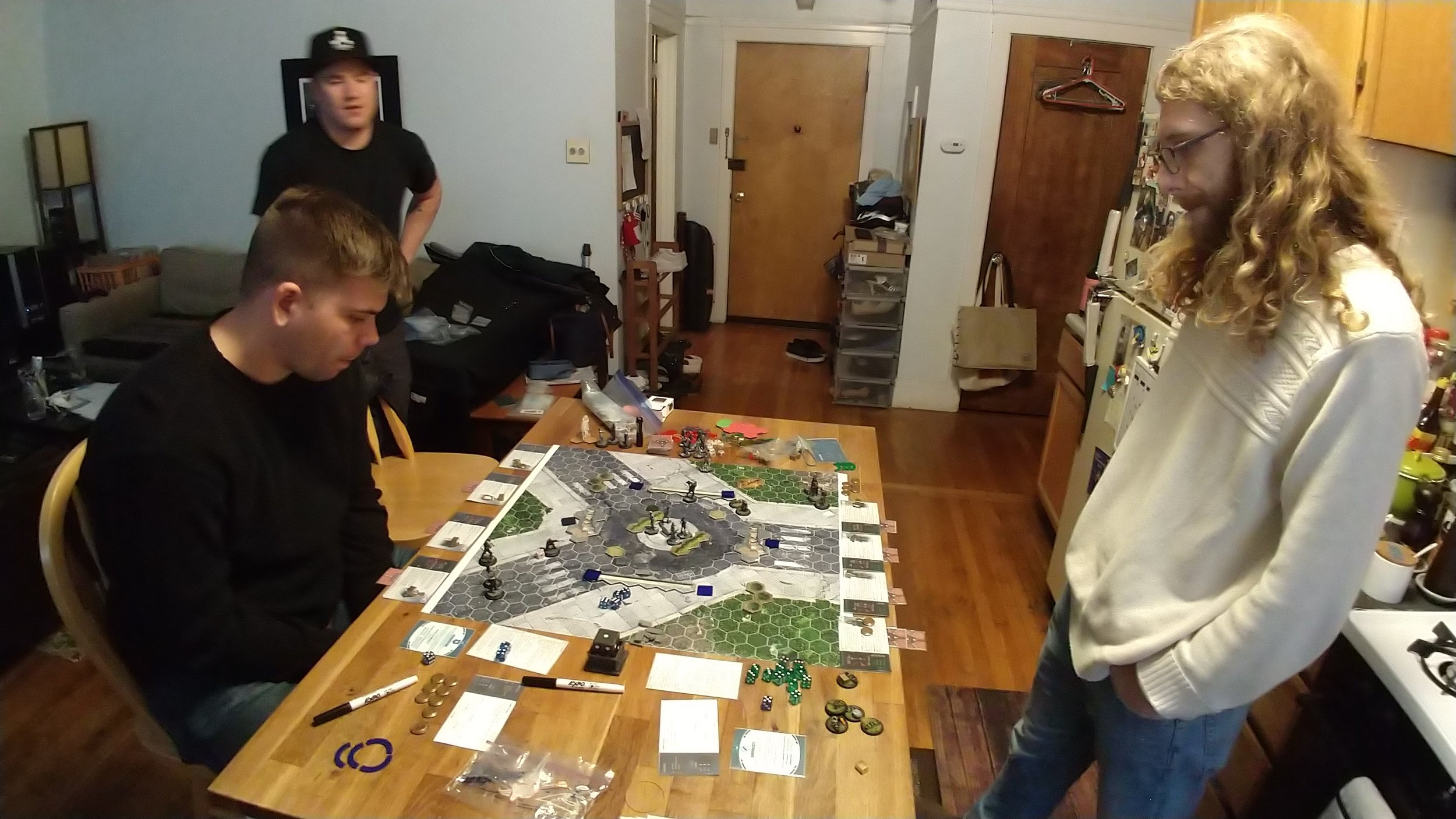 Got some help from Zack and Jordan testing out the new CyMS rules too!