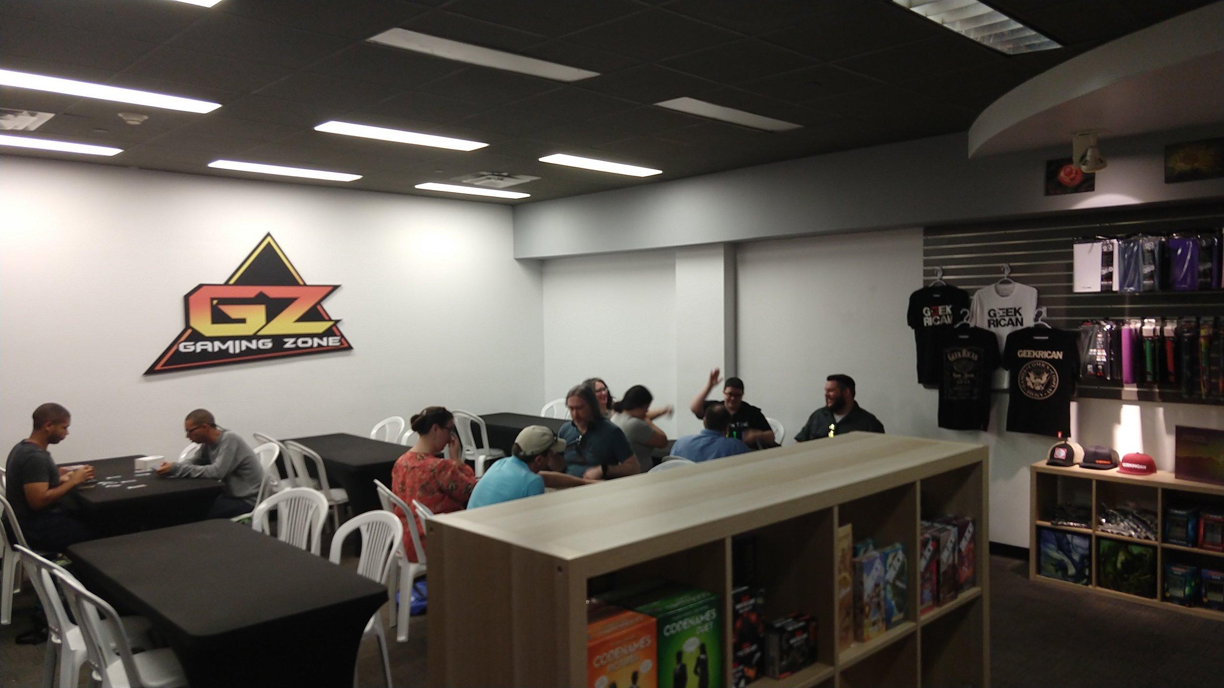 Gaming Zone in San Juan, Puerto Rico!
