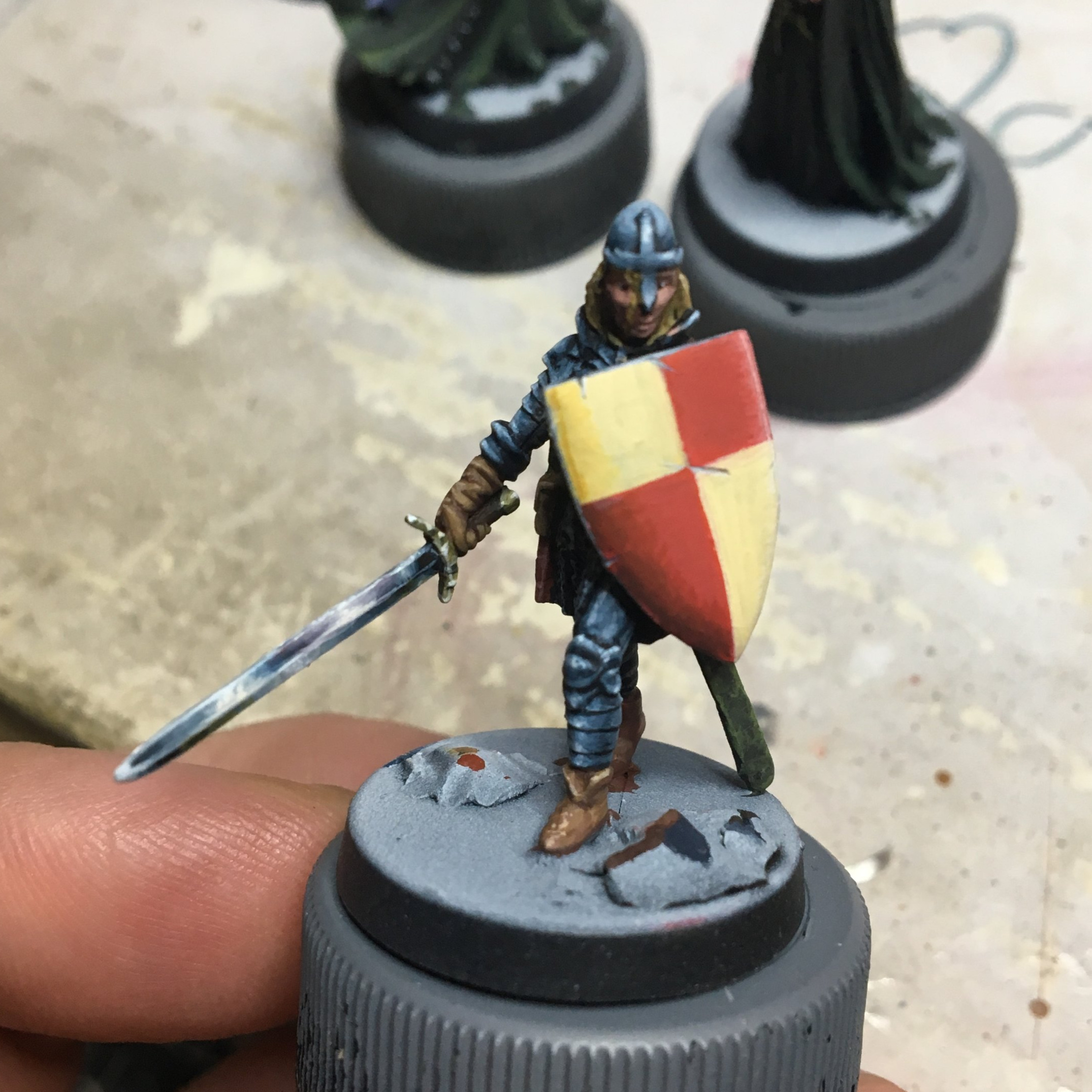 I'm pretty stoked on this guy, my first NMM armor!