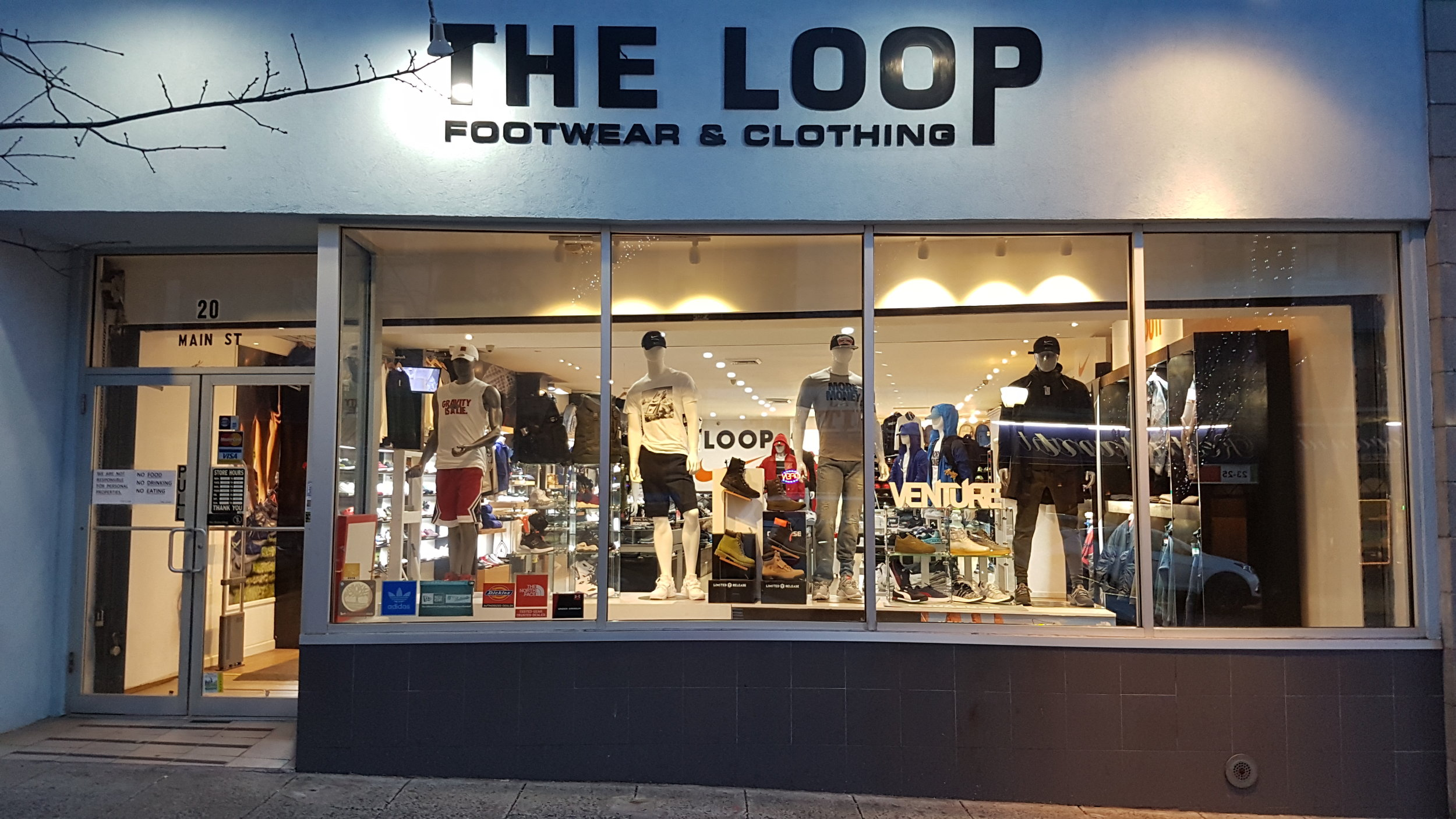 THE LOOP, Yonkers - 20 Main StreetYonkers, NY 10701TEL: (914) - 476 - 3147FAX: (914) - 476 - 3428Open Hour: 10am - 7pmEMAIL: dukechoe62@yahoo.com