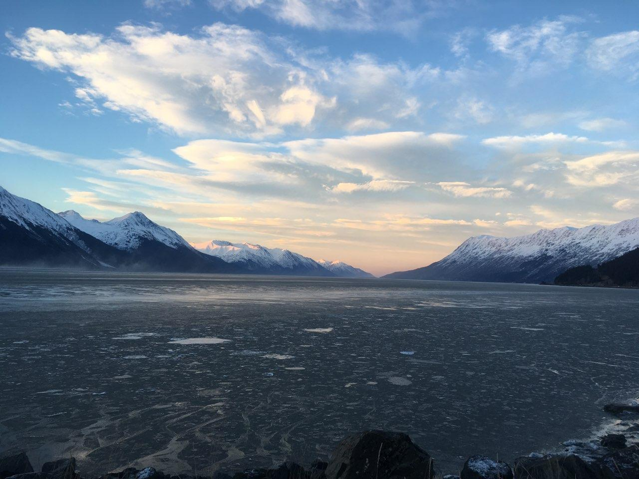 Turnagain Arm, Alaska. Image by Sonia Kumar