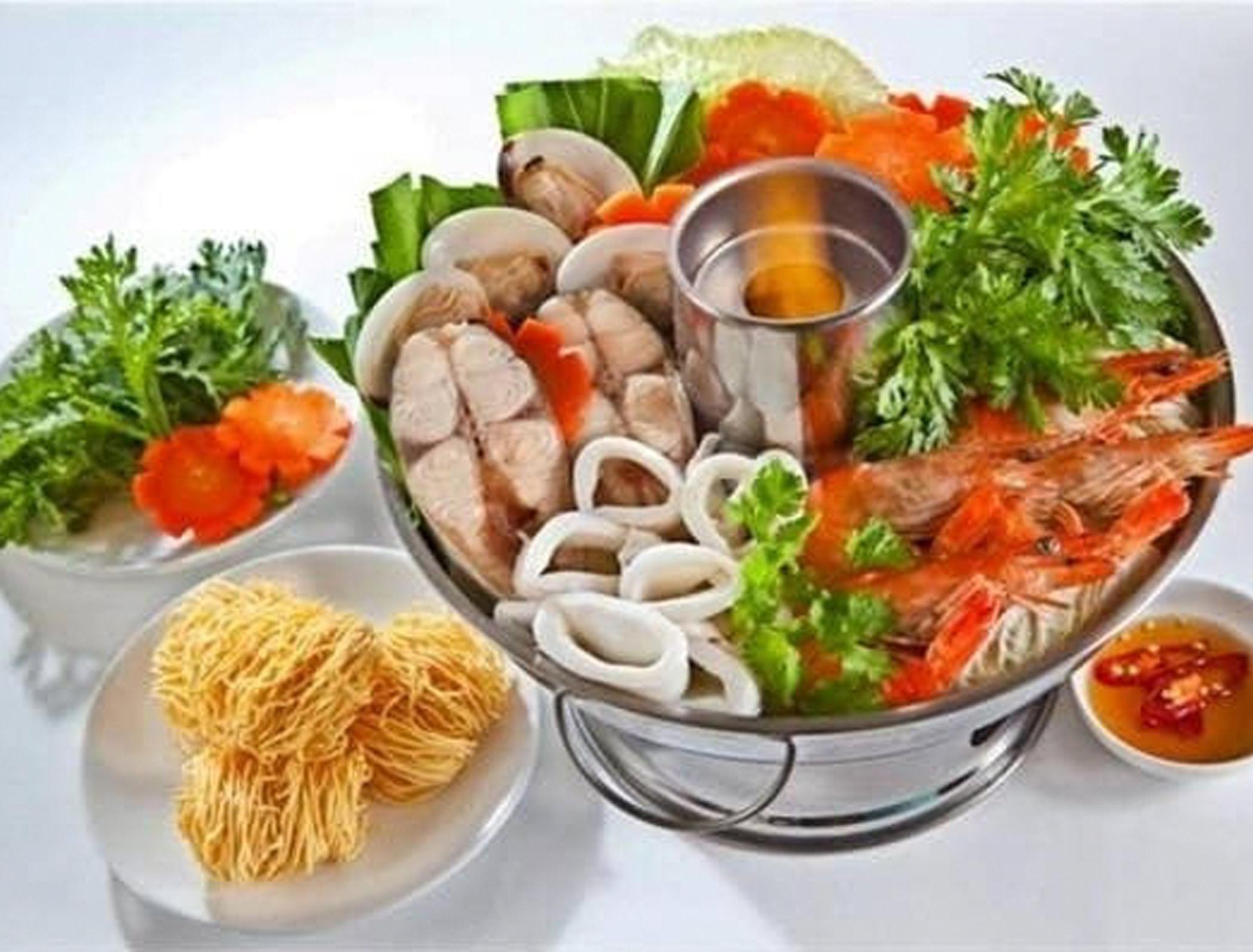 Seafood Hot Pot - Small - $14.99Large - $34.99