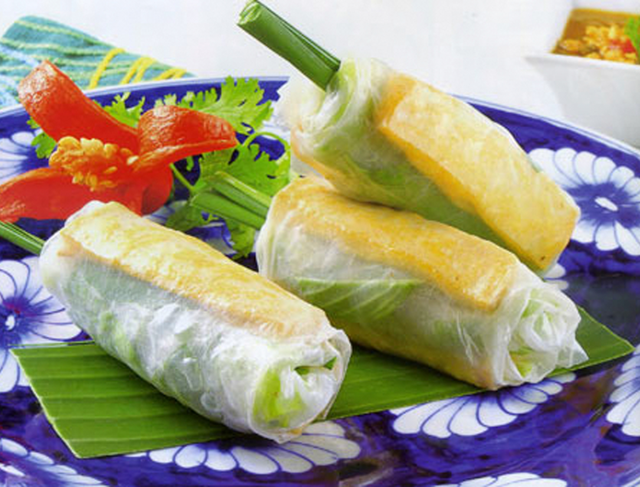 Tofu Spring Roll - 3 for $3.99