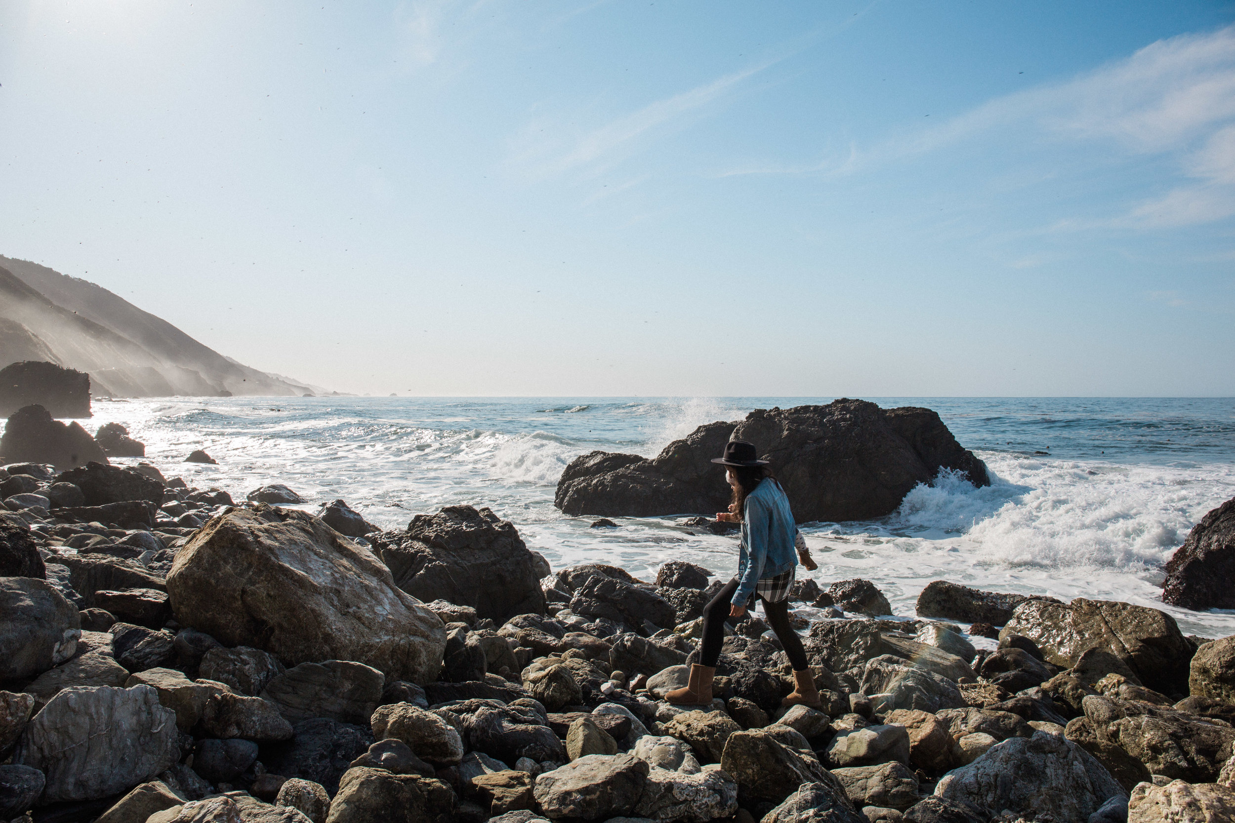 Camping in Big Sur | The Whitefeather Journal