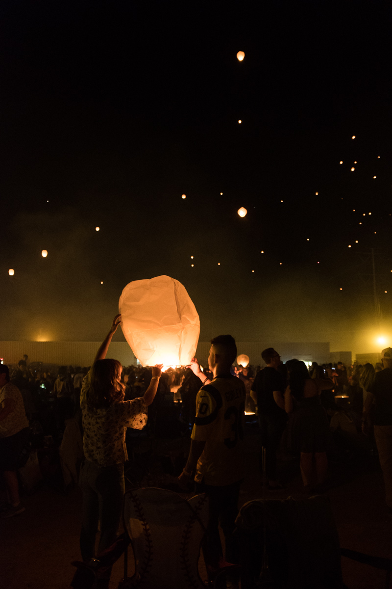 Family date at the Lantern Fest.   The Whitefeather Journal