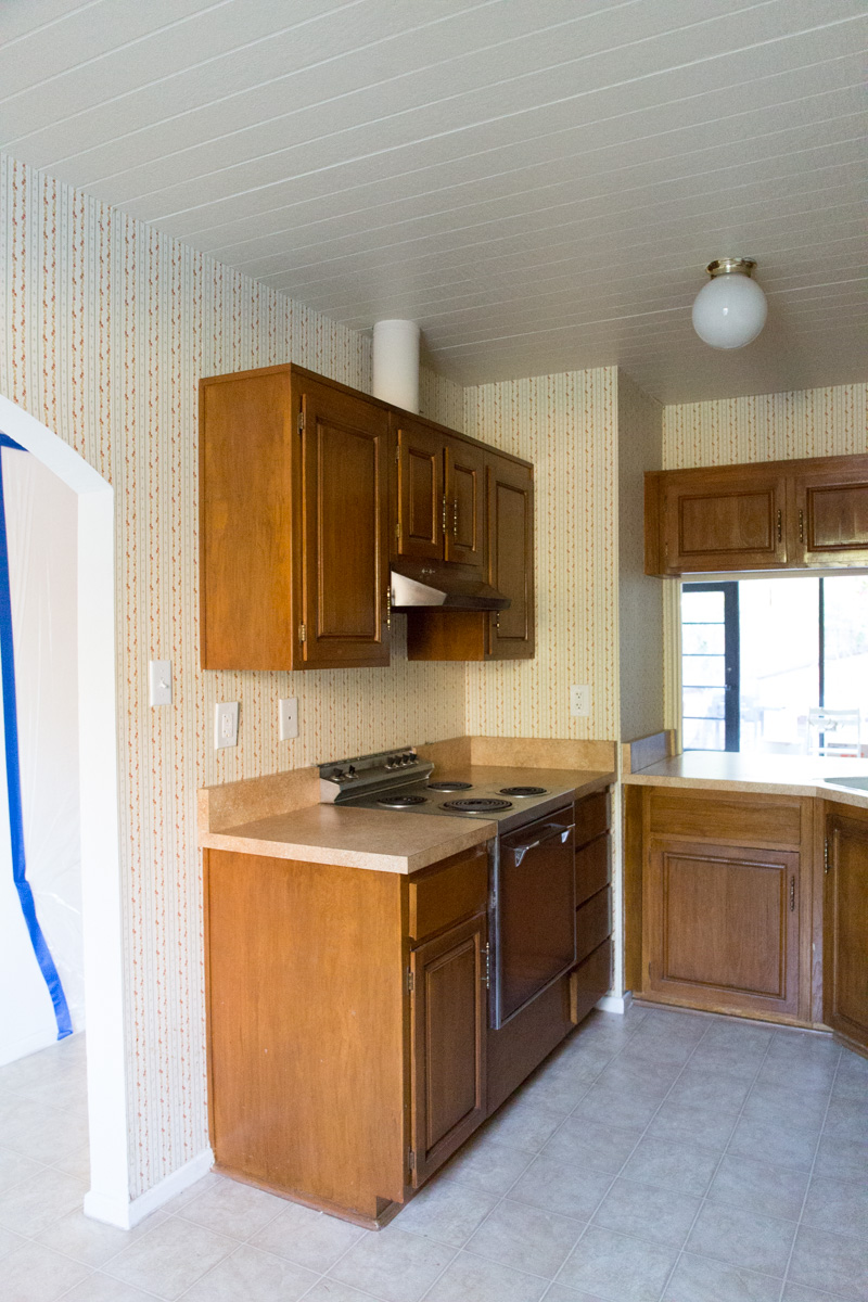 Kitchen Renovation Before | The Whitefeather Journal