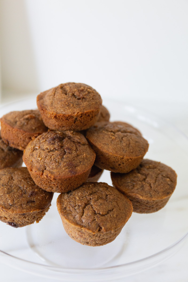 Coconut Milk Banana Muffins | The Whitefeather Journal