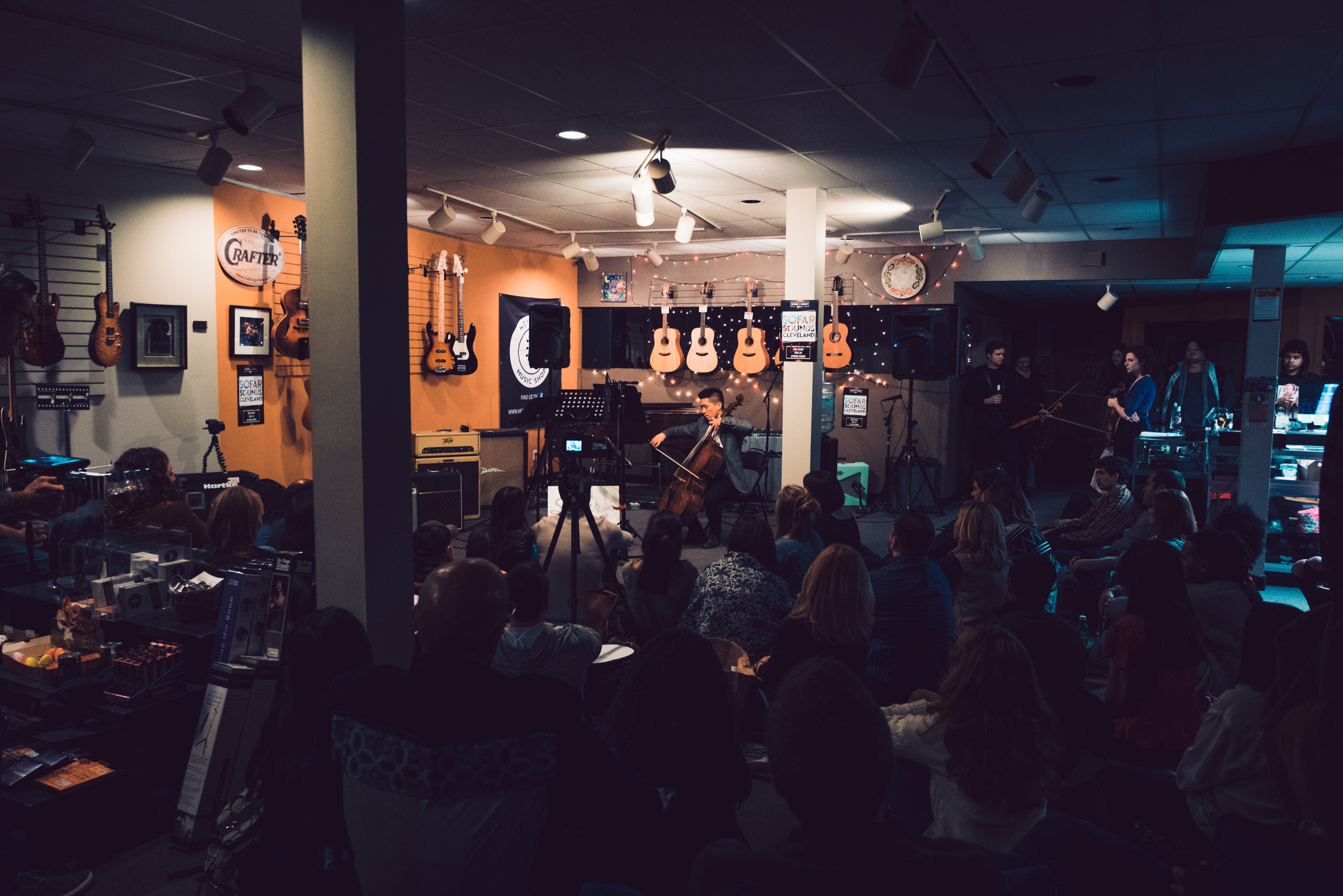 Segal Photography for Sofar Cleveland .
