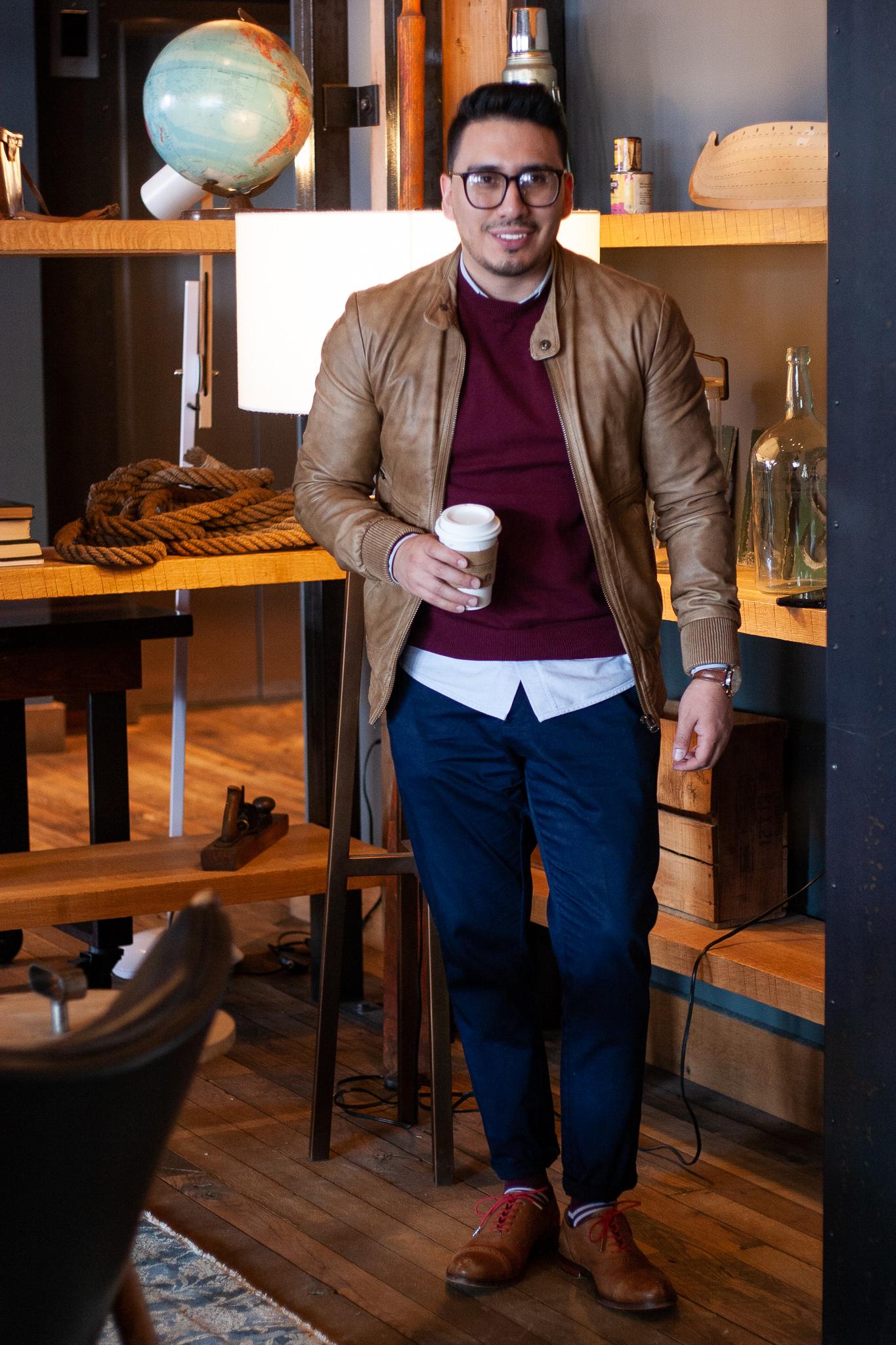 3 Ways To Rock A Crew Neck Sweater Ft. Mio Marino