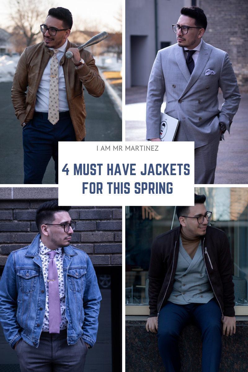 The Only 4 Jackets Men Need In Spring | Men's Spring Style
