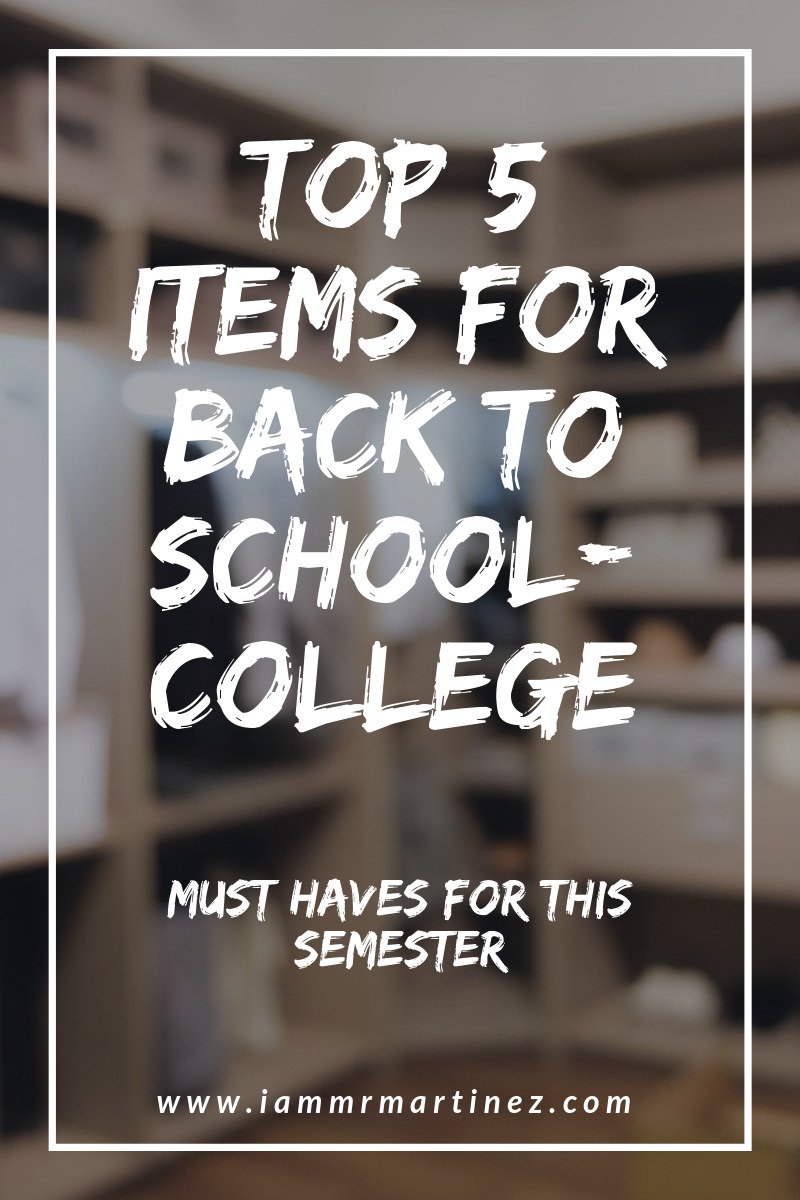 Top 5 Must-Have Clothing Pieces For College | College Student Essentials ft. Giovanni Rodriguez