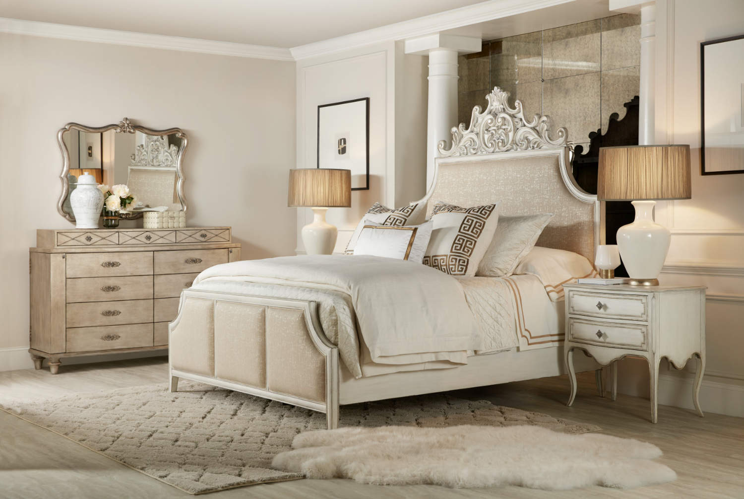Hooker Furniture Sanctuary Collection Anastasie Upholstered Bed Room Scene.jpg