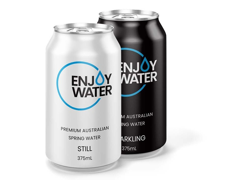 375mL ALUMINIUM CAN - 375mL aluminium can now available in Still and Sparkling cans. For those times you need to 'down it in one go'.