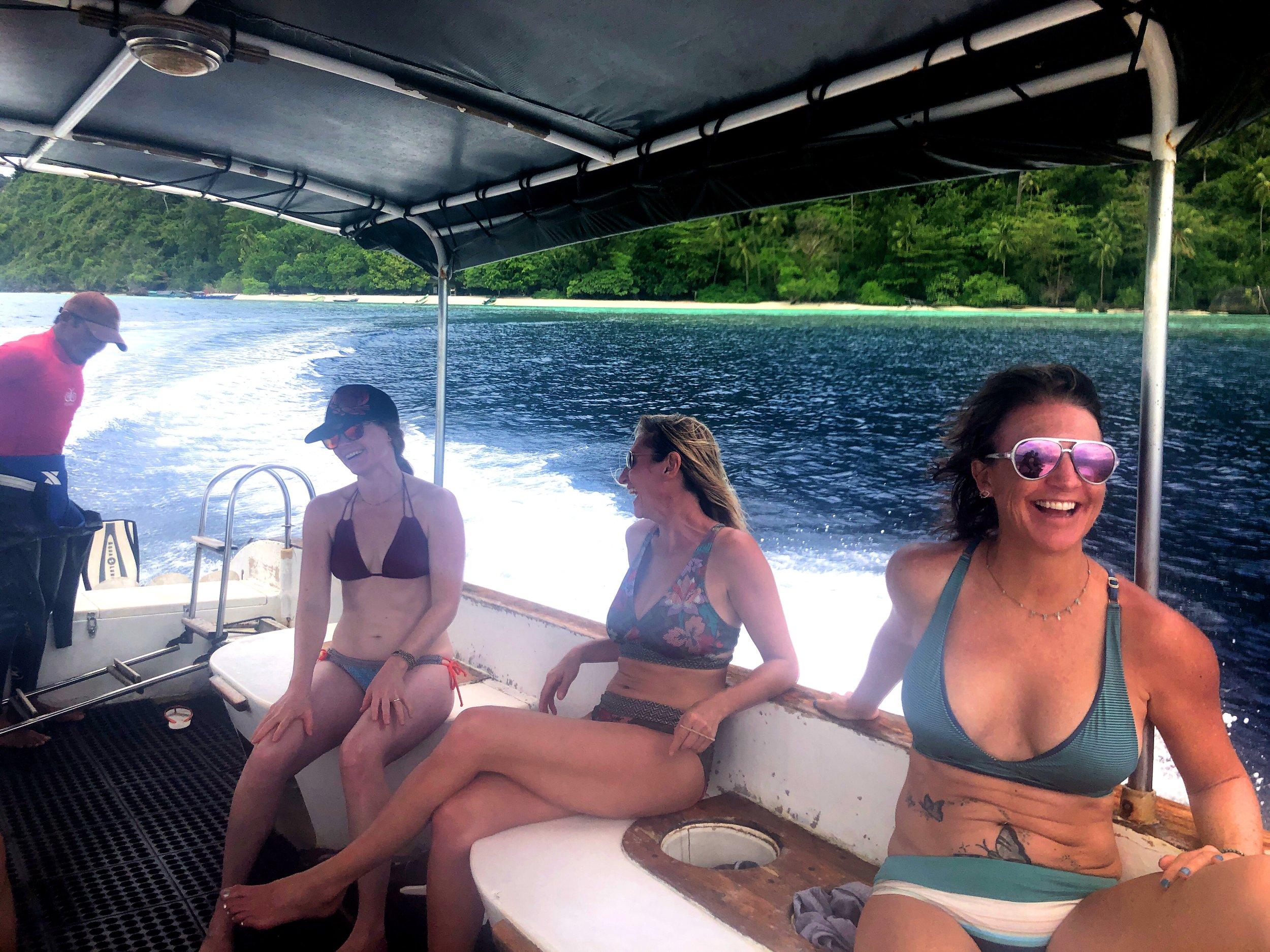 1. Happy on boat.JPG