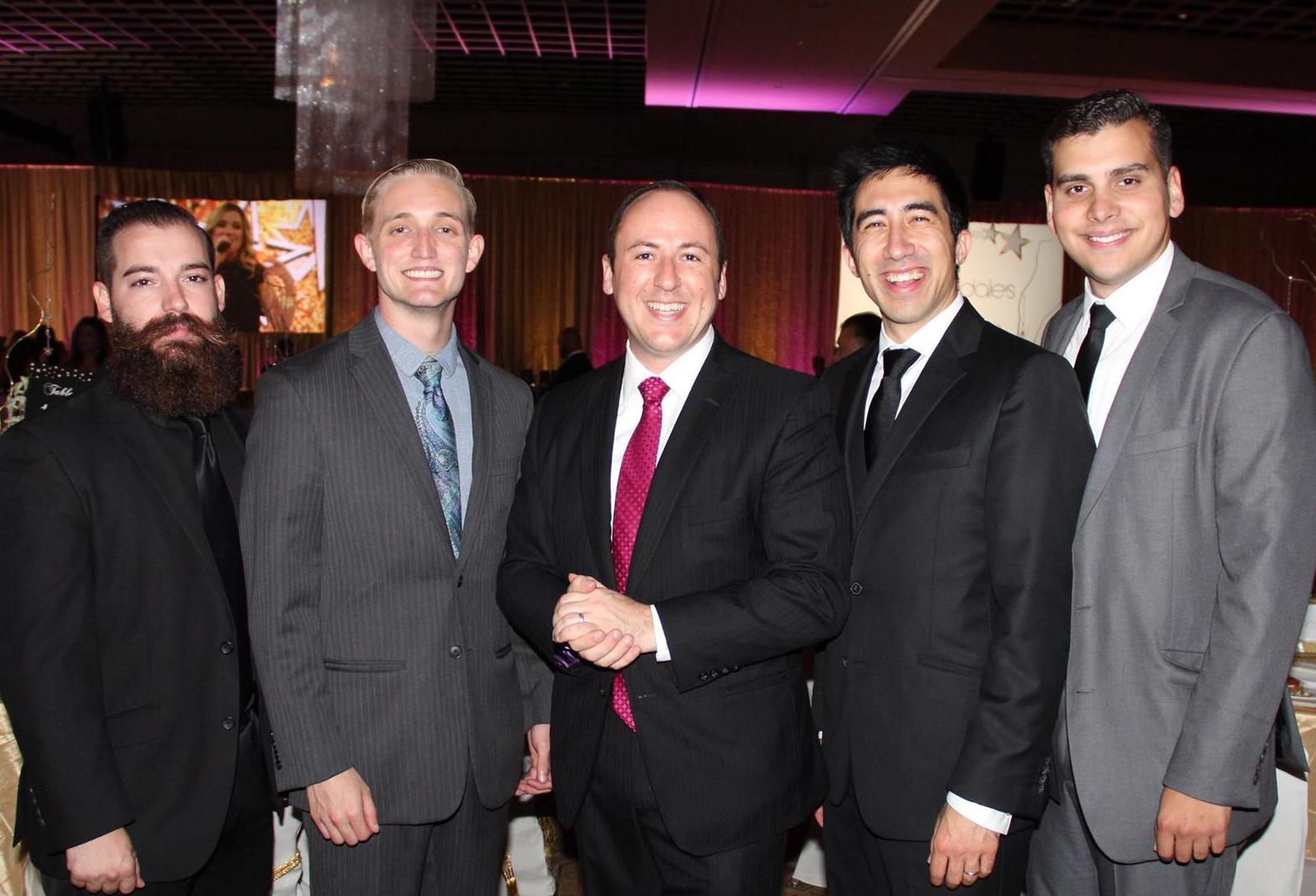 Orlando magicians of See Magic Live perform annually at the Runway to Hope fundraiser, fighting childhood cancer.