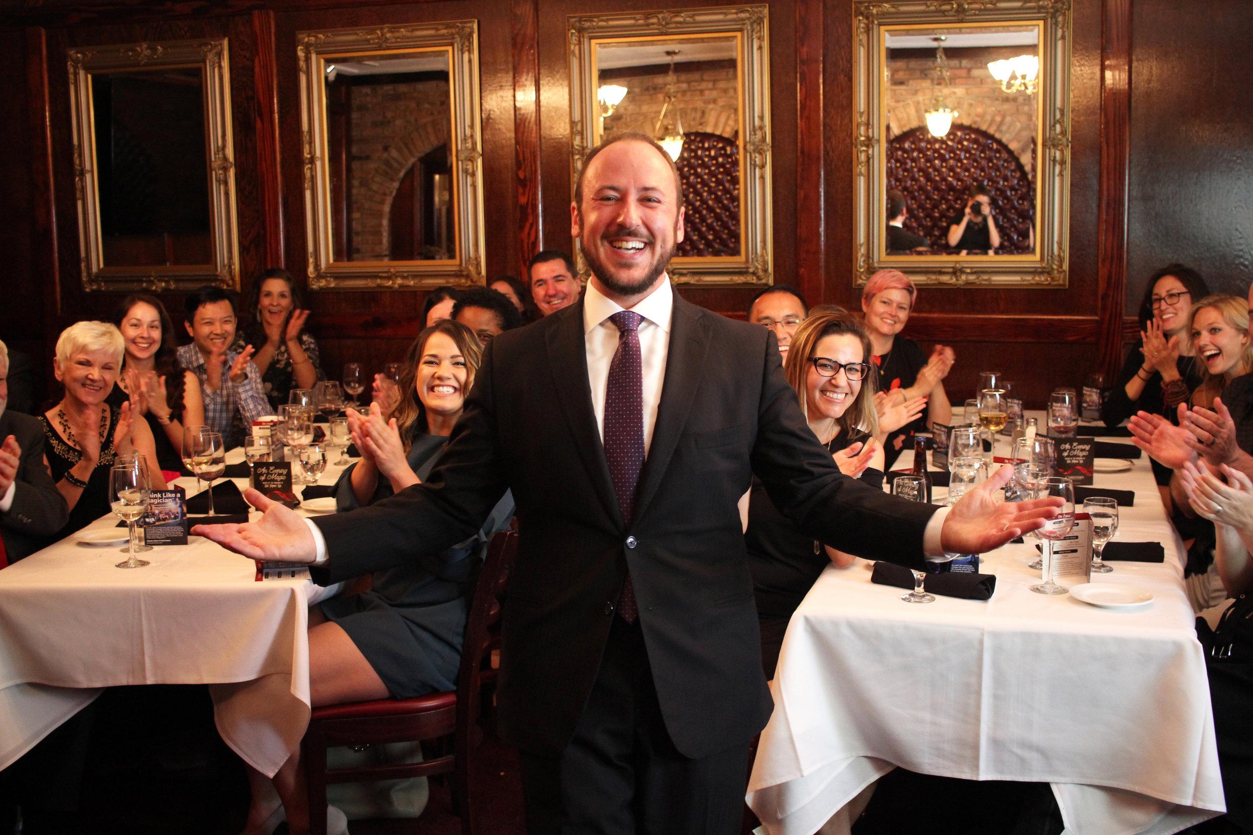 Private Dinner Celebrations -