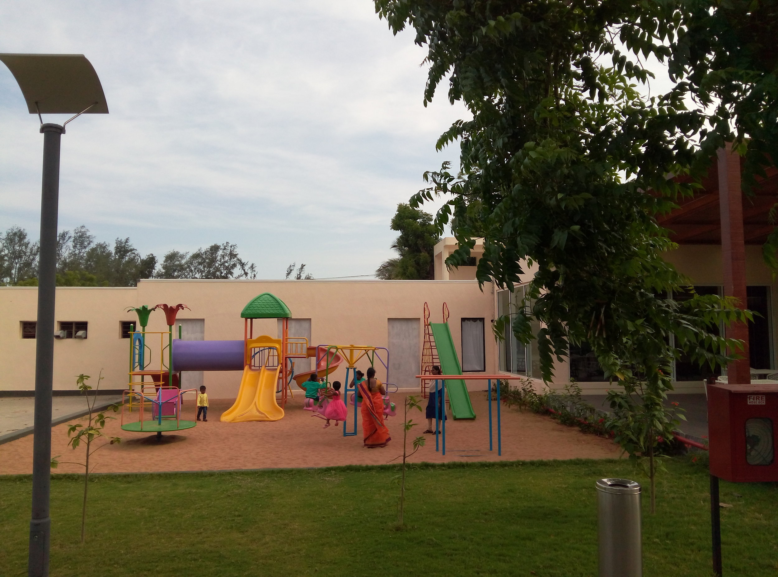 Children Play area at the WelcomHotel Kences Palm Beach