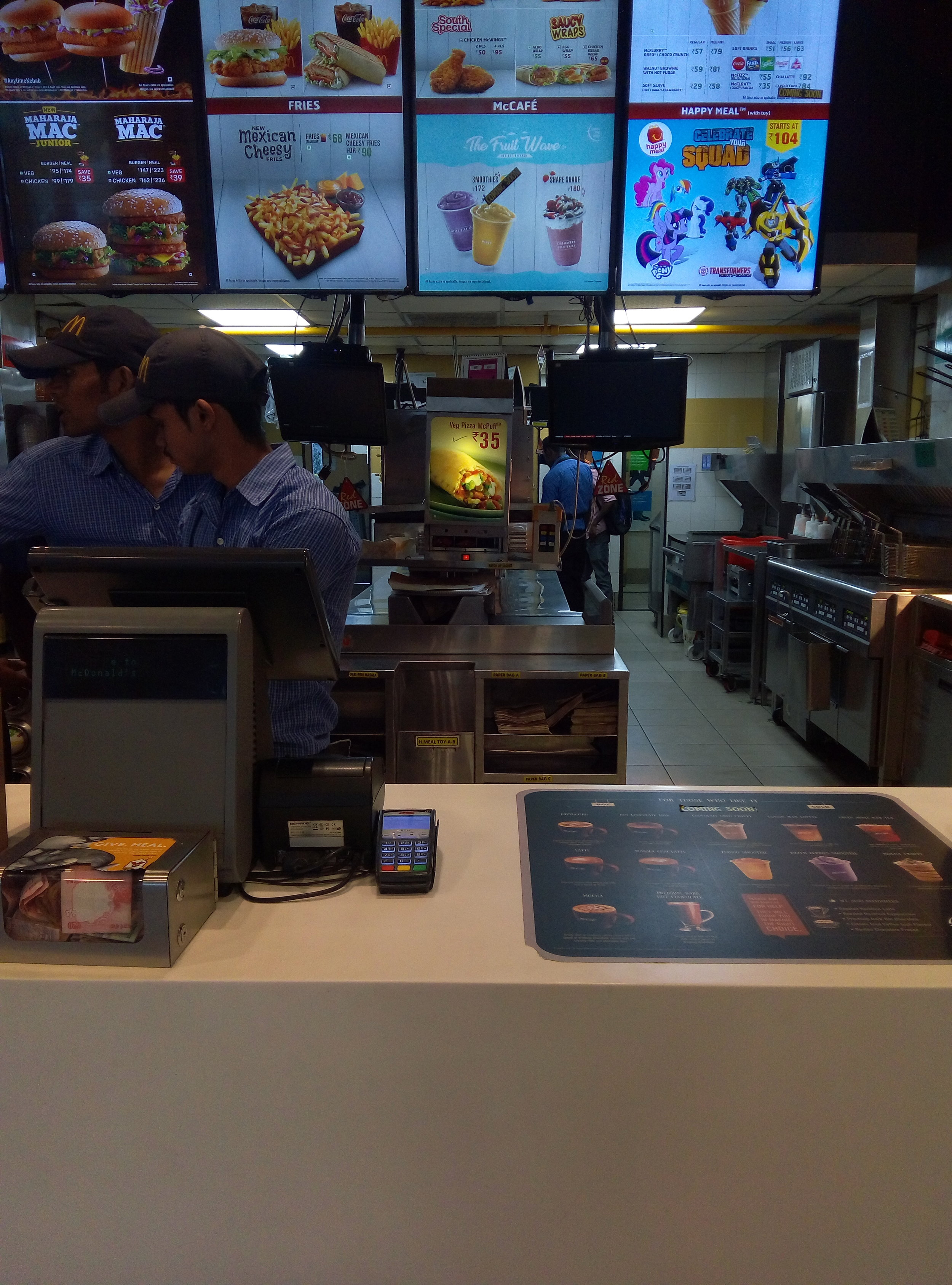 McDonalds Karnataka | Customer Service | Big Data | PritishSocial | Travel and Food