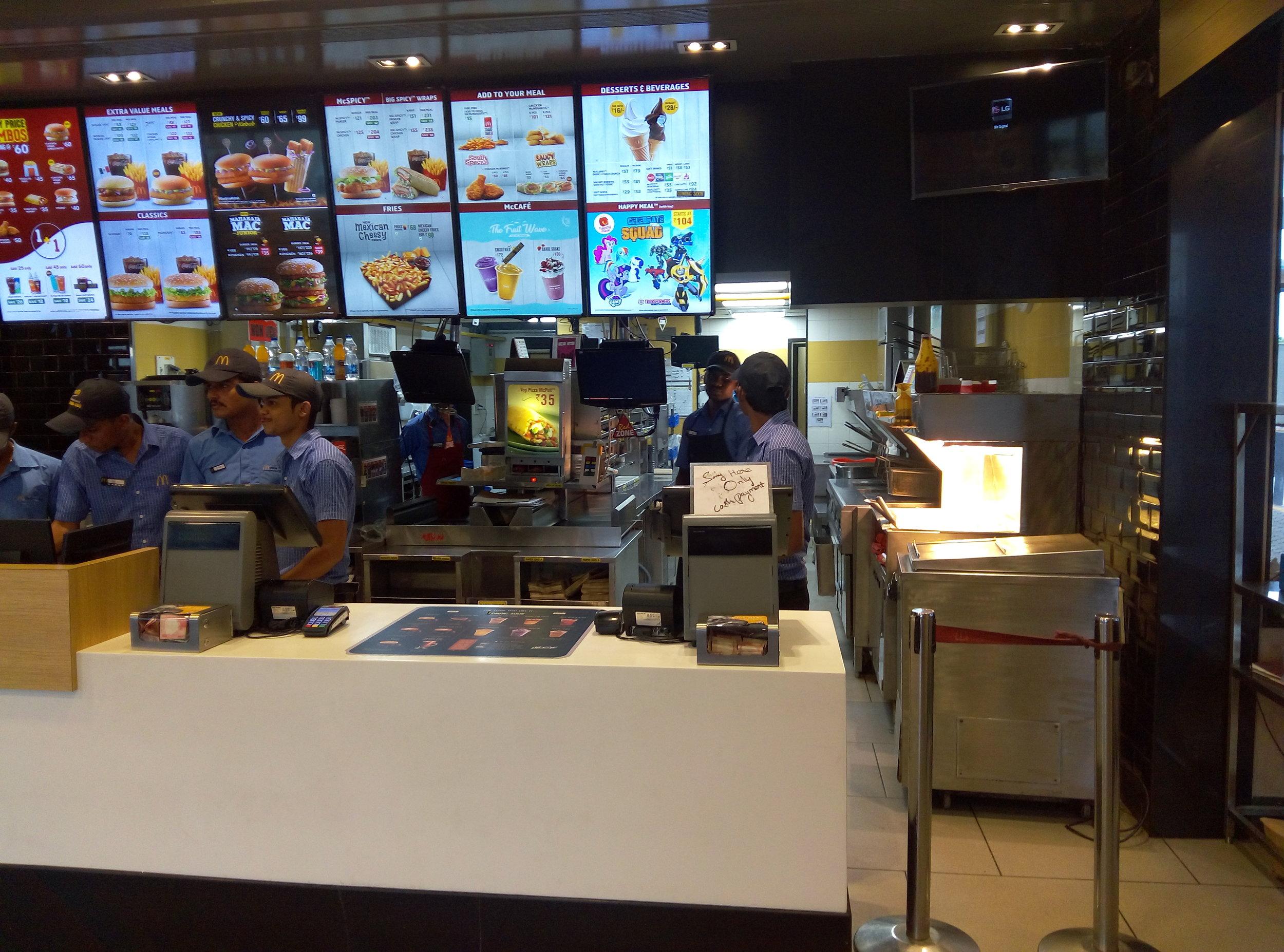 McDonalds India | Customer Service | Big Data | PritishSocial | Travel and Food Photo