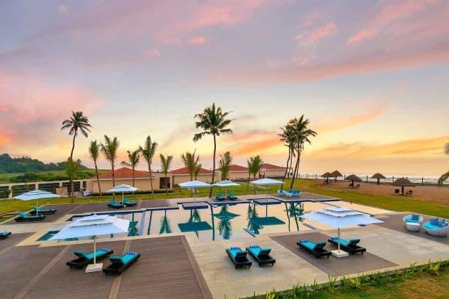 Beach Pool Side (Source - Goibibo) - WelcomHotel Kences Palm Beach