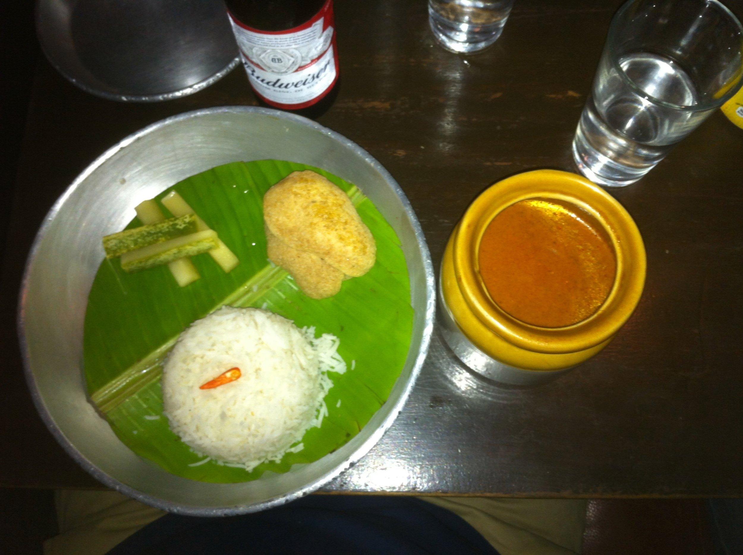Lamb Massamam Curry | Social | Phoenix Market city | Bangalore | PritishSocial | Food Blogger
