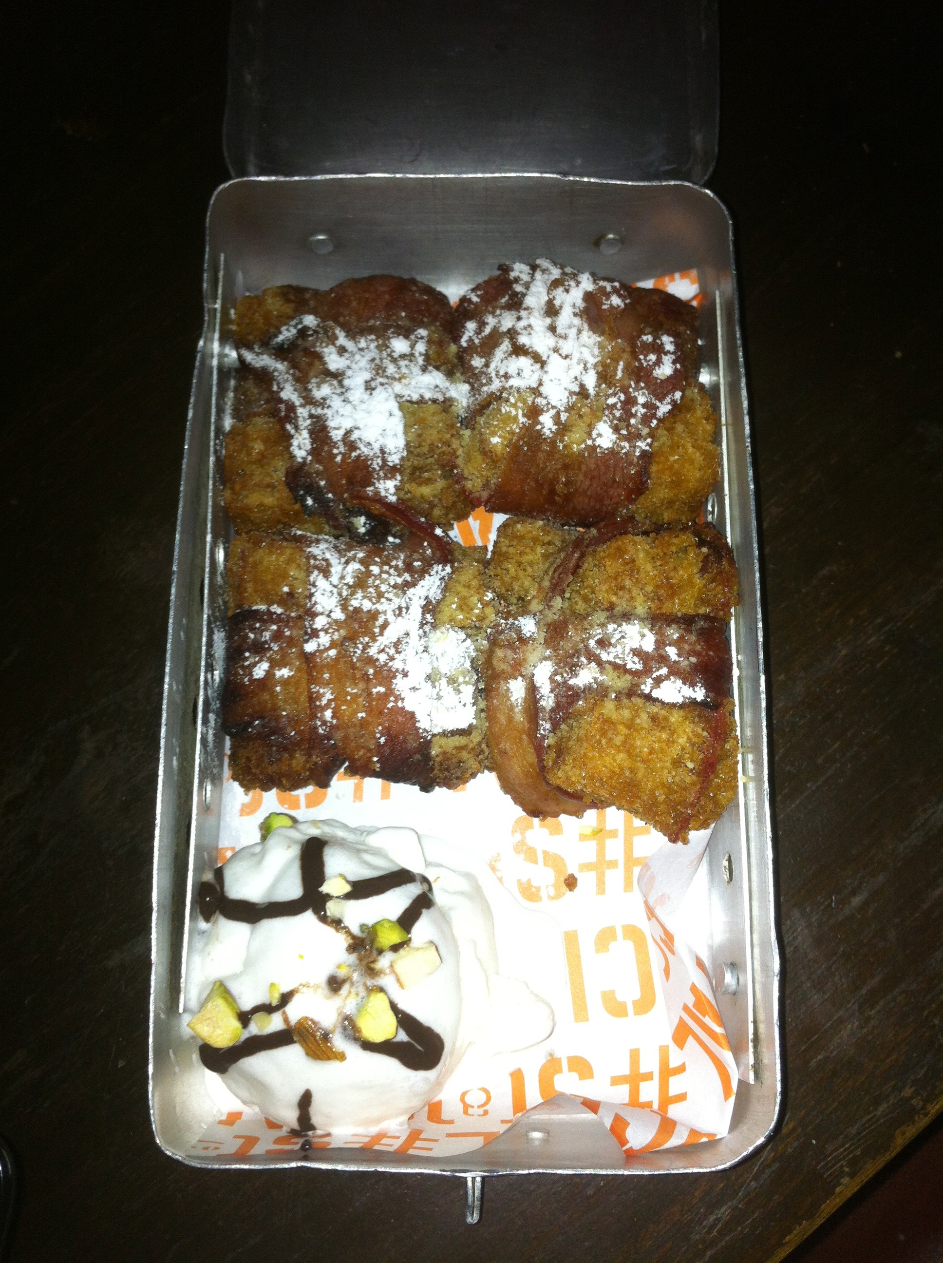 PBJ and Bacon Amaze Balls with Vanilla Ice Cream | Social | Phoenix Market city | Bangalore | PritishSocial | Food Blogger