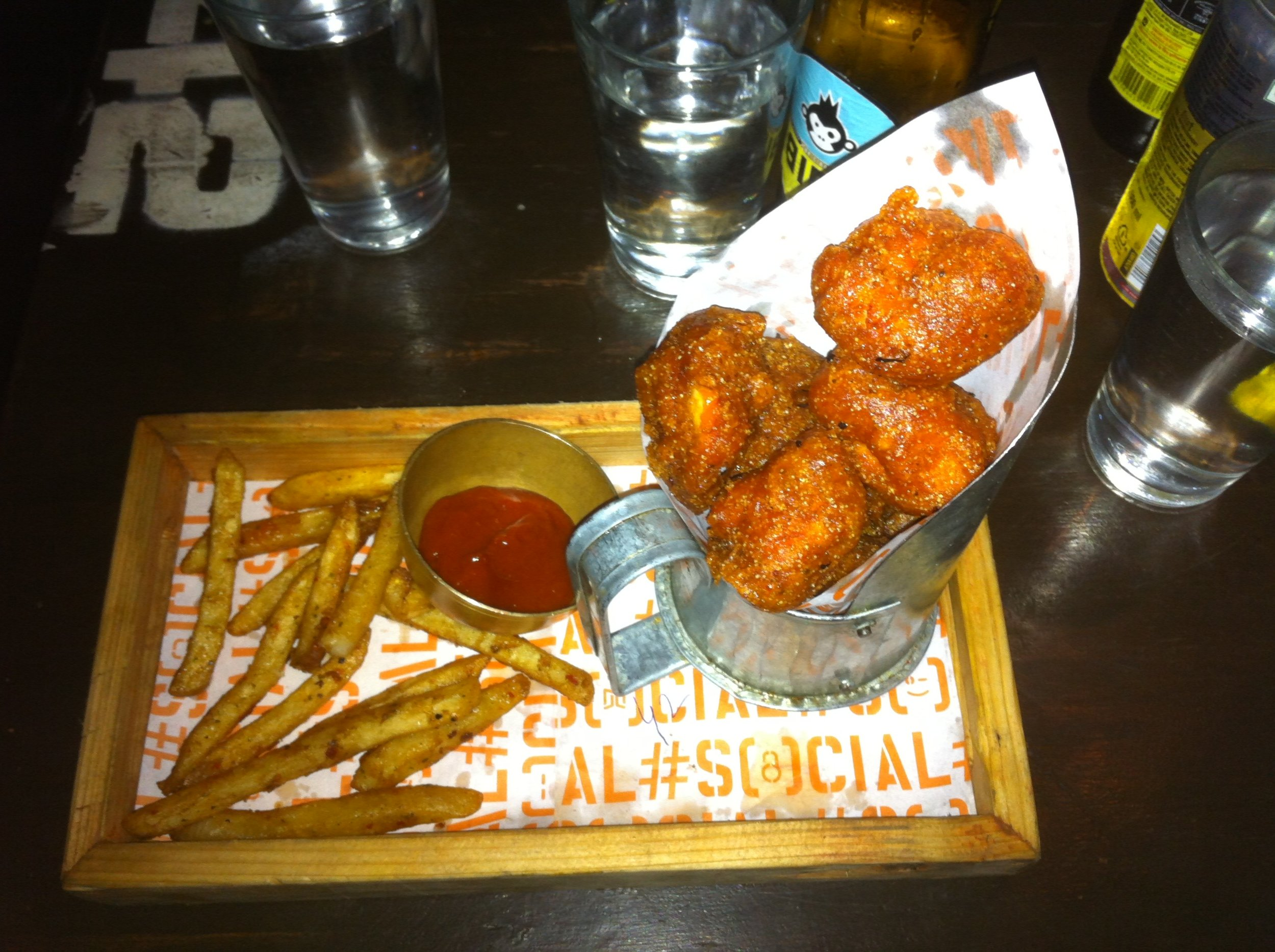 Southall Fish and Chips | Social | Phoenix Market city | Bangalore | PritishSocial | Food Blogger