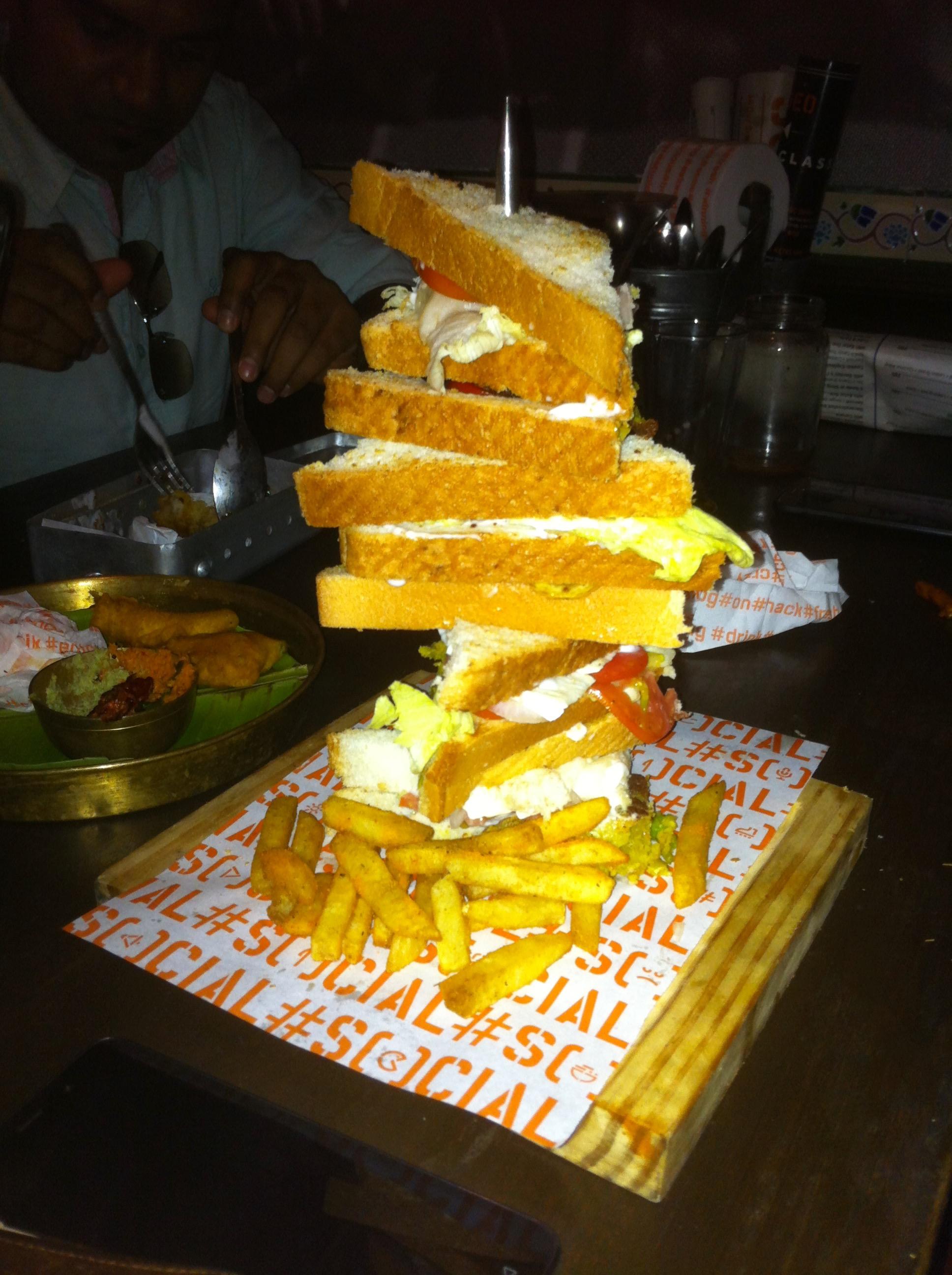 The Mile High Club Veg | Social | Phoenix Market city | Bangalore | PritishSocial | Food Blogger