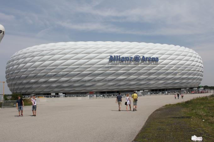 Allianz Arena Entrance
