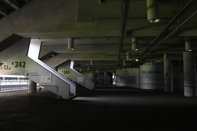 Allianz Arena Staircases