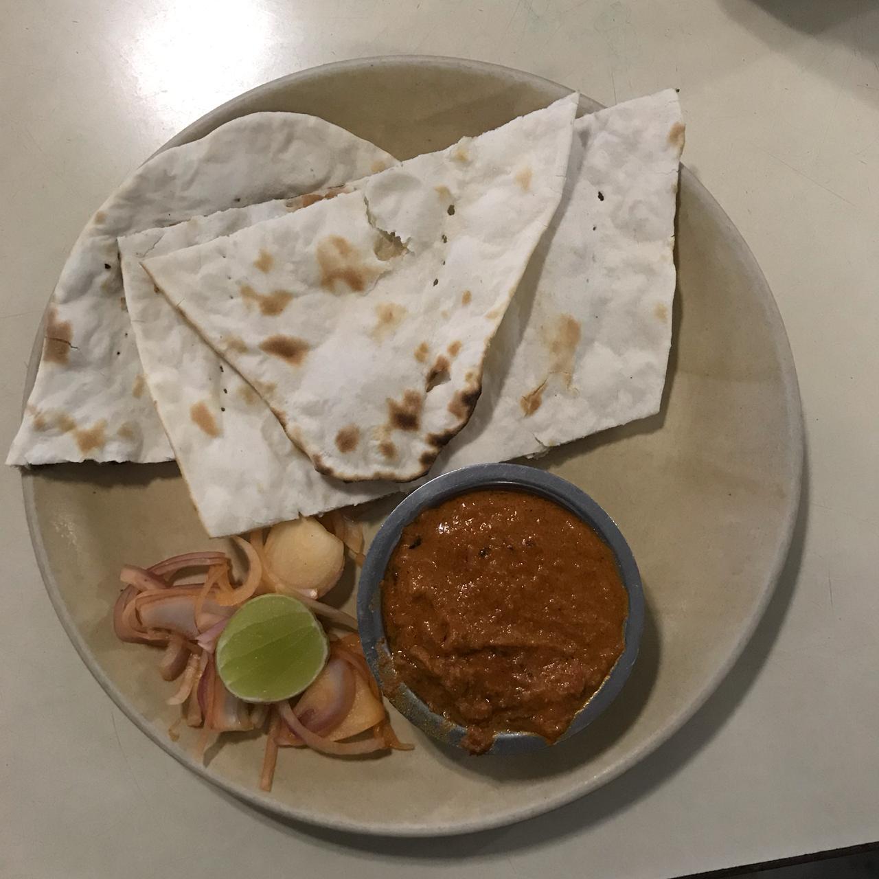 Naan Paneer Butter Masala | Menaka Restaurant Nungambakkam.jpeg