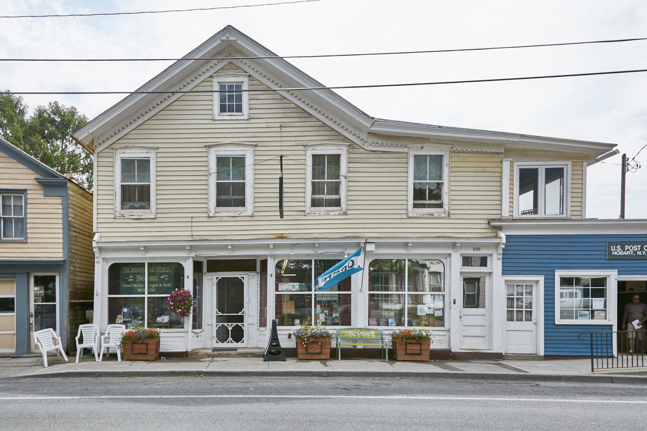 A Tiny New York Town With Not One, But 5 Indie Bookstores  The village of Hobart, home to fewer than 500 people, serves as a modest reminder that books can change people and places.