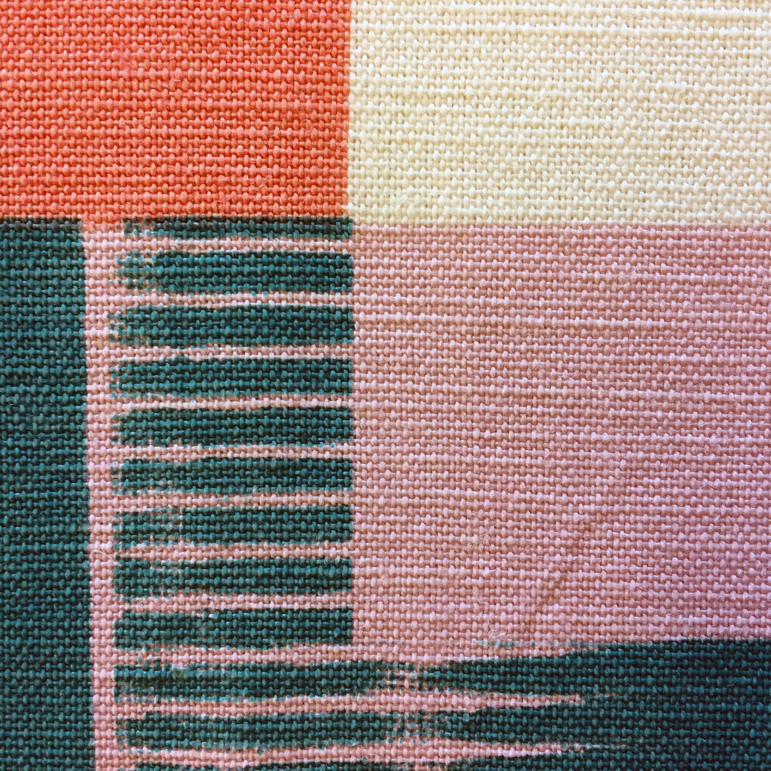 Michelle_House_printed_textile_artwork_in progress_detail_ Londo
