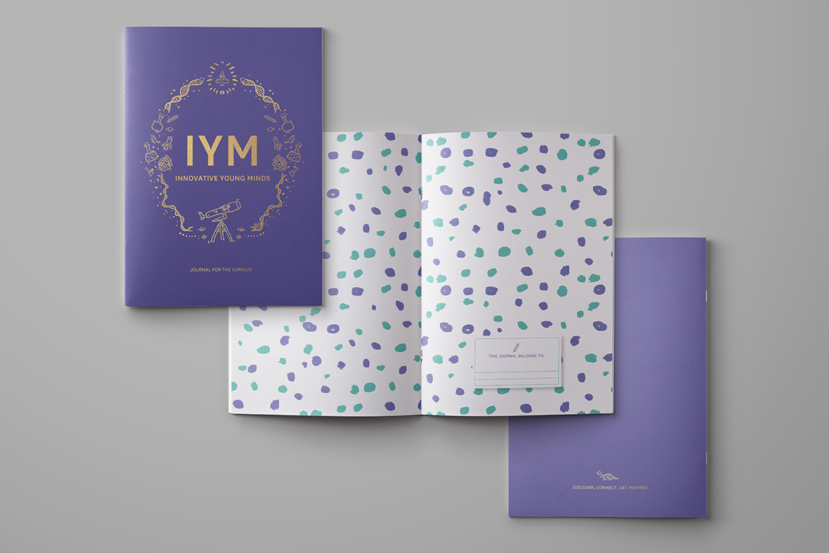 Innovative Young Minds Journal  Print Design