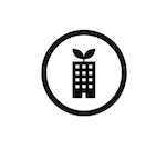 sustainable building icon