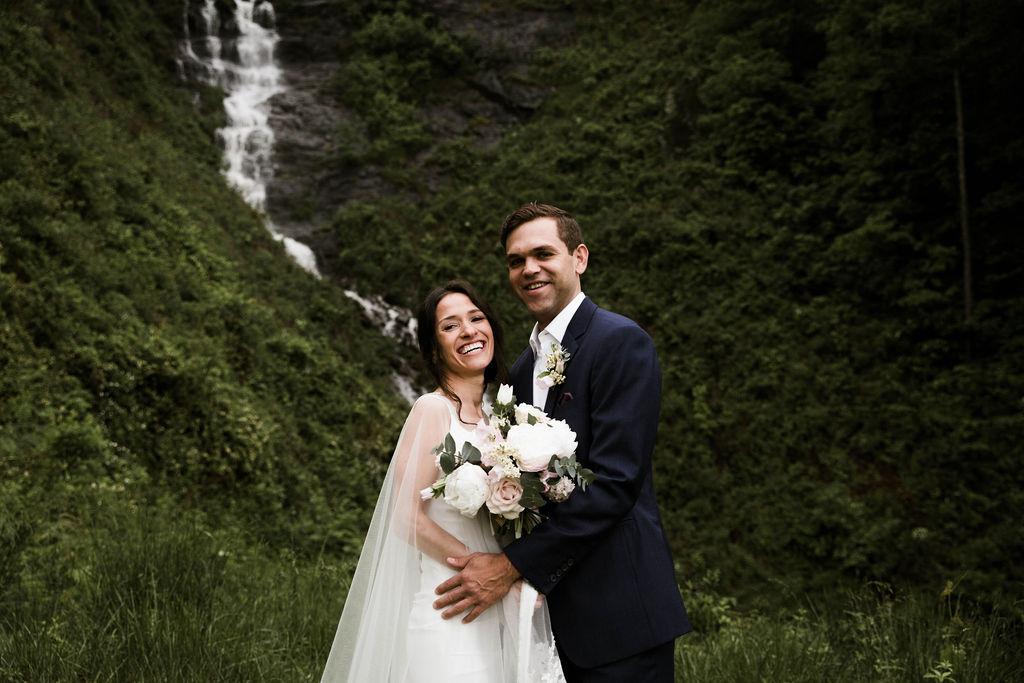 Modern + Moody Mountain Wedding