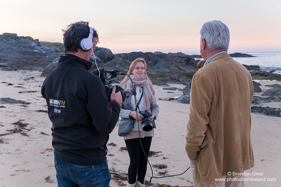 Irish TV Film Crew