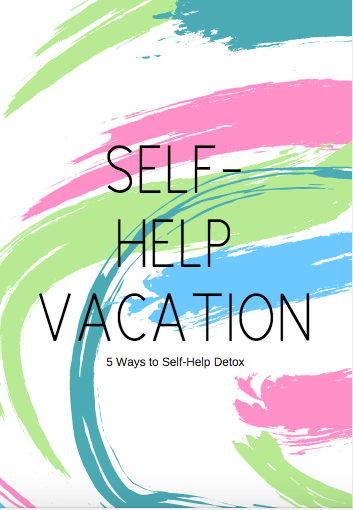 A VERY MINI EBOOK ON WAYS TO SELF-HELP    DETOX!