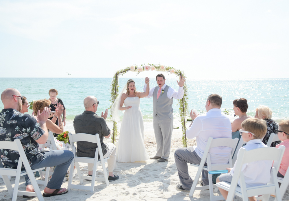 Casey Key beach  Wedding Officiant