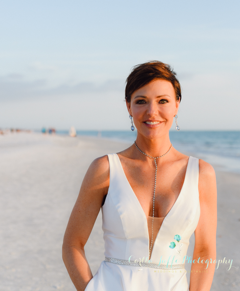 Shelly's wedding on Sunset Beach Resort - Siesta Key