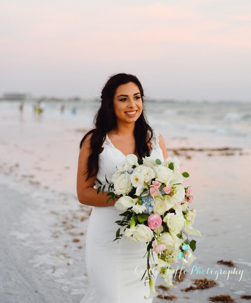 Siesta Key Beach amazing wedding ceremony