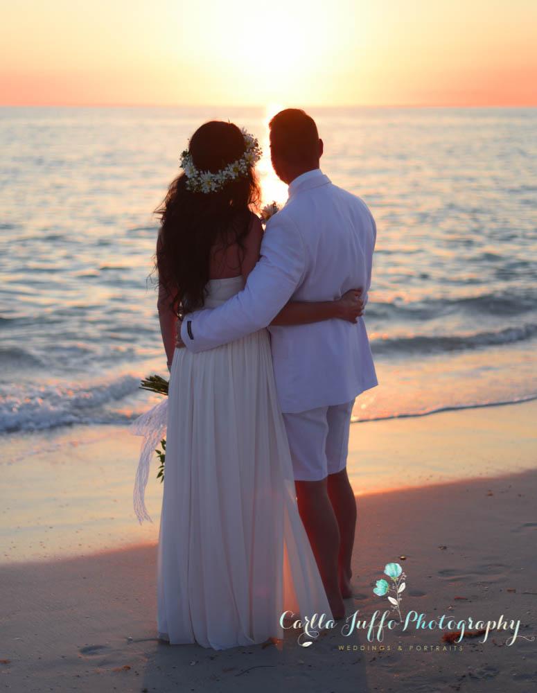Sarasota Weddings on the beach - Siesta Key, Lido beach, Longboat Key, Casey Key and South Venice, Florida