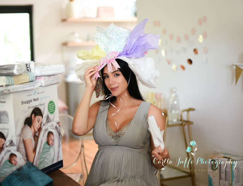 Karine's baby shower held at her sister-in-law in Coral gables, Miami, Florida