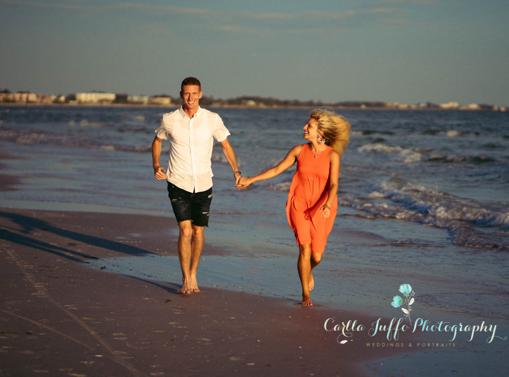 Siesta Key Beach Engagement photo Session