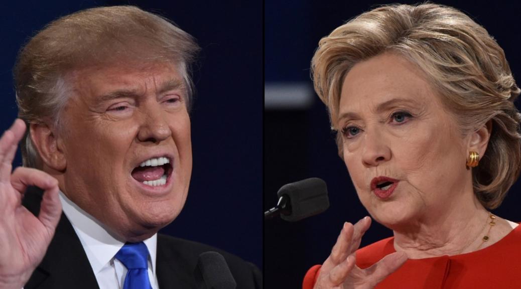Trump Clinton Election 2016