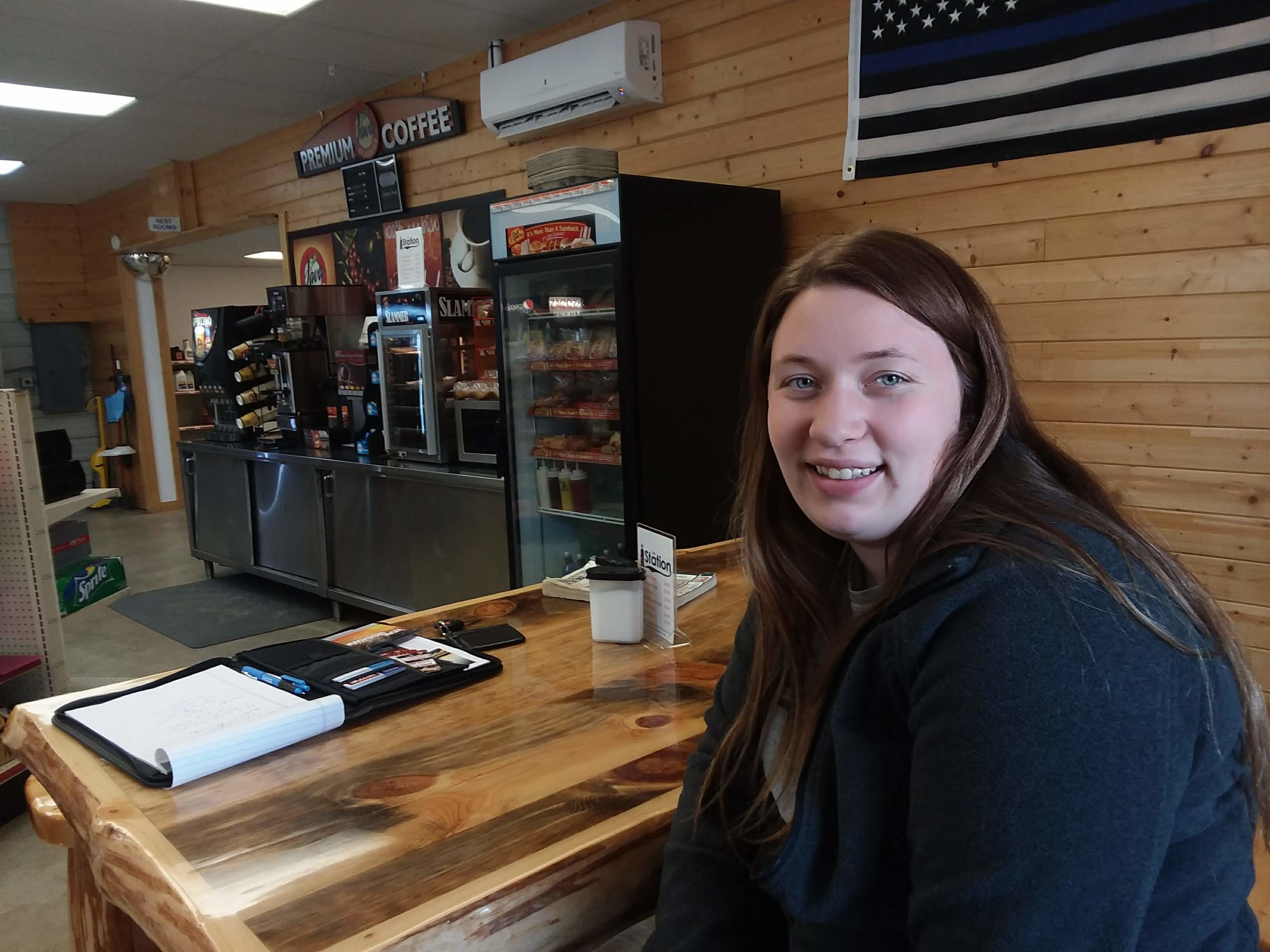Emily Astle, store owner