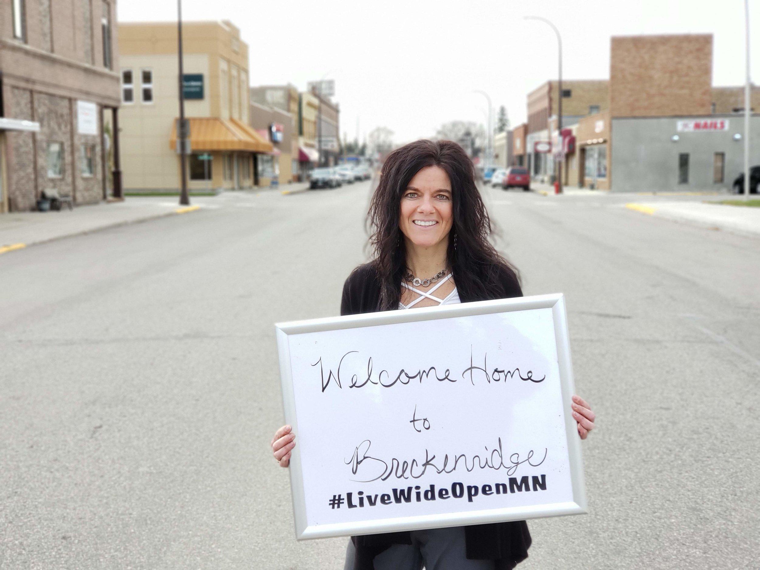 Breckenridge city administrator Renae invites you to check out Breckenridge and Wilkin County!