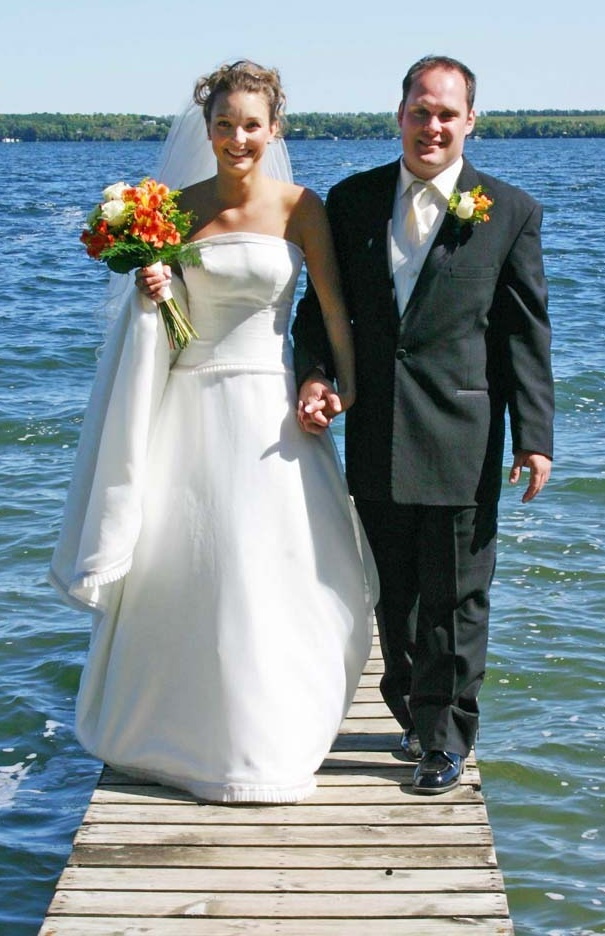 Clitherall Lake has a lot of meaning for Megan and Justin!