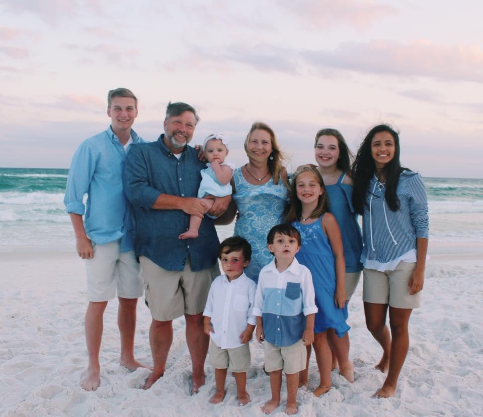 Jimmy & Kim Killough and the kids